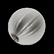 Mat systemlås 585/- hvidguld, 11 mm