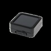 Salgsæske, sort plast/sort fyld, small