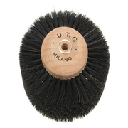Black wide lathe brush