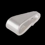 Small polished pendant bail 925/-