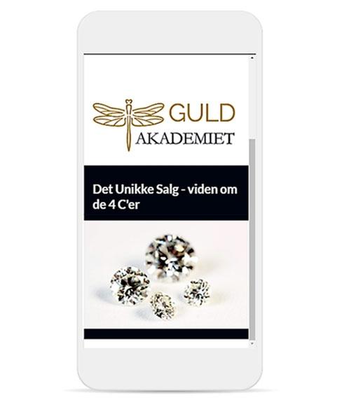 Køb e-læringskursus om diamanter og de fire C'er