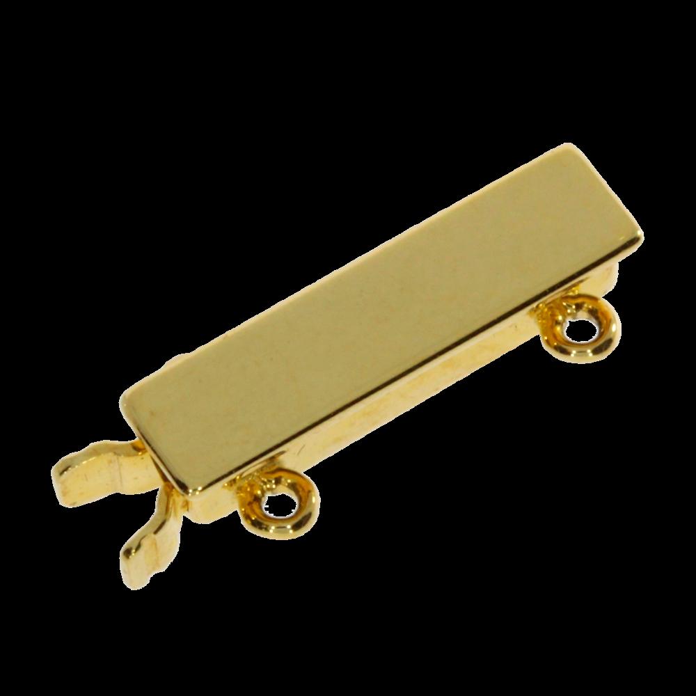 Slender polished clasp 585/-