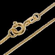 Bracelet venetian box diamond cut 585/- yellow gold