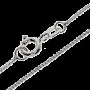 Bracelet venetian box diamond cut 585/- white gold