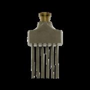 Fan nozzle for MIG-O-MAT