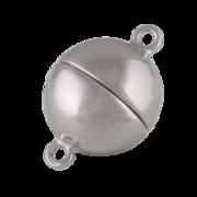 Blank magnet-kuglelås 925/- , 10 mm