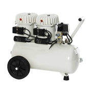 Compressor with 2 motors, 24 litre (8 bar)