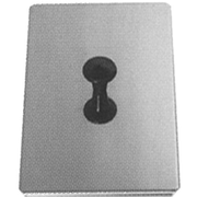 Stainless steel cover for ultrasonic cleaner