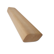Wooden mandrel, square round