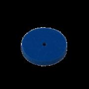 Blue rubber wheel